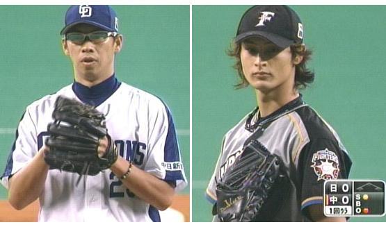 山井 vs ダルビッシュ