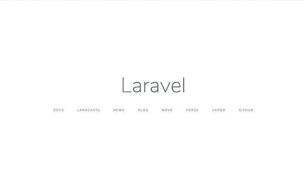 Homestead Laravel